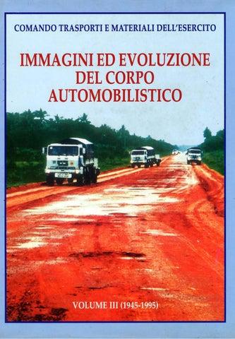 Immagini Ed Evoluzione Del Corpo Automobilistico Vol Iii 1945 1995