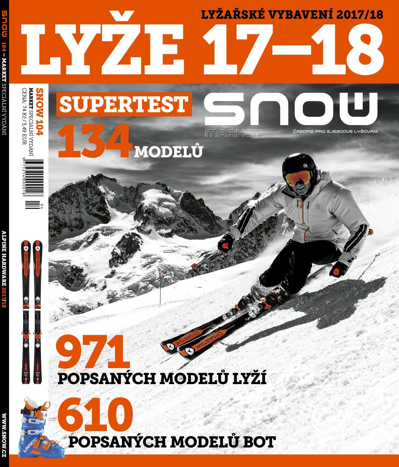 SNOW 104 market - lyžařské vybavení 2017 18 by SNOW CZ s.r.o. - issuu 11c9d92ae1