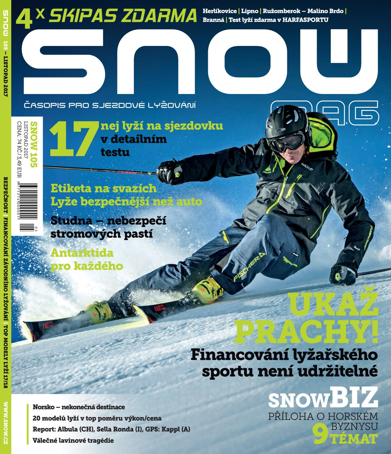 1d393b29e61 SNOW 105 - listopad 2017 by SNOW CZ s.r.o. - issuu