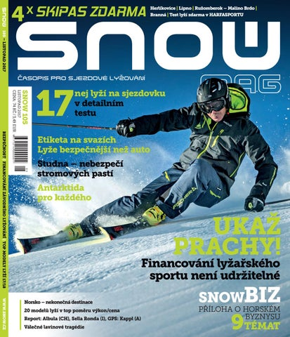 SNOW 105 - listopad 2017 by SNOW CZ s.r.o. - issuu 5b73c1872c