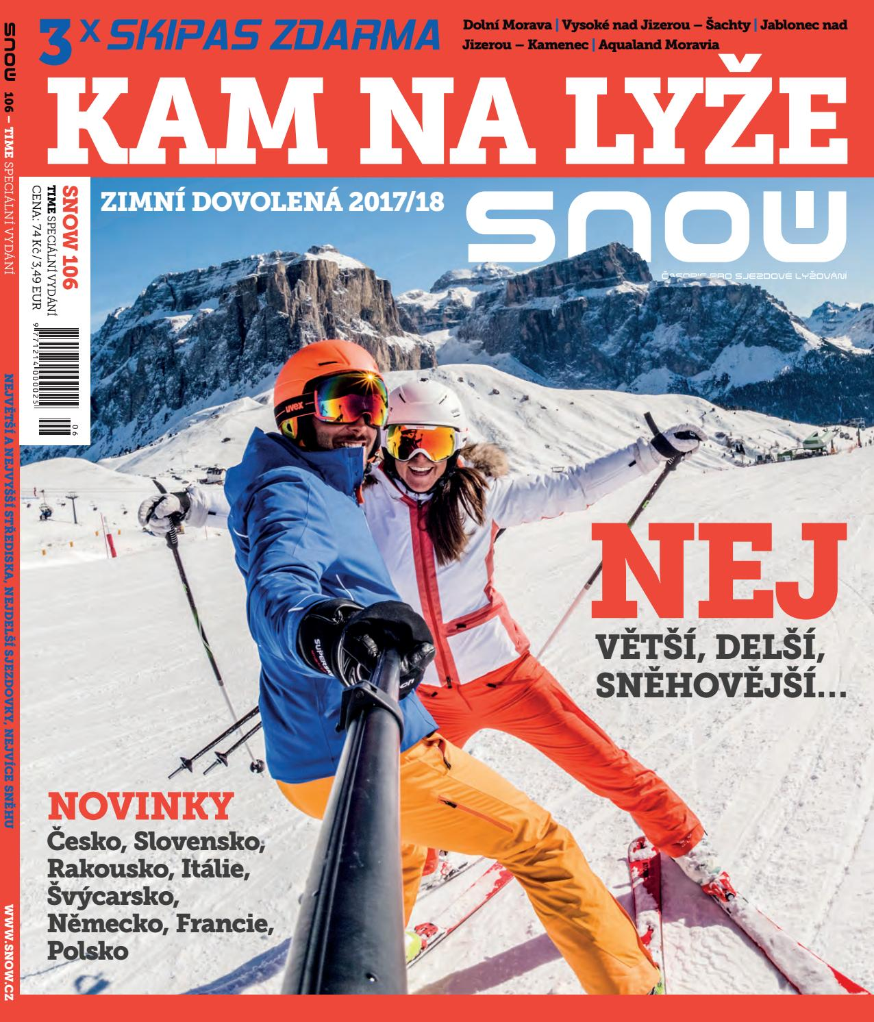 SNOW 106 time - kam na lyže 2017 18 by SNOW CZ s.r.o. - issuu ed481bf21c5