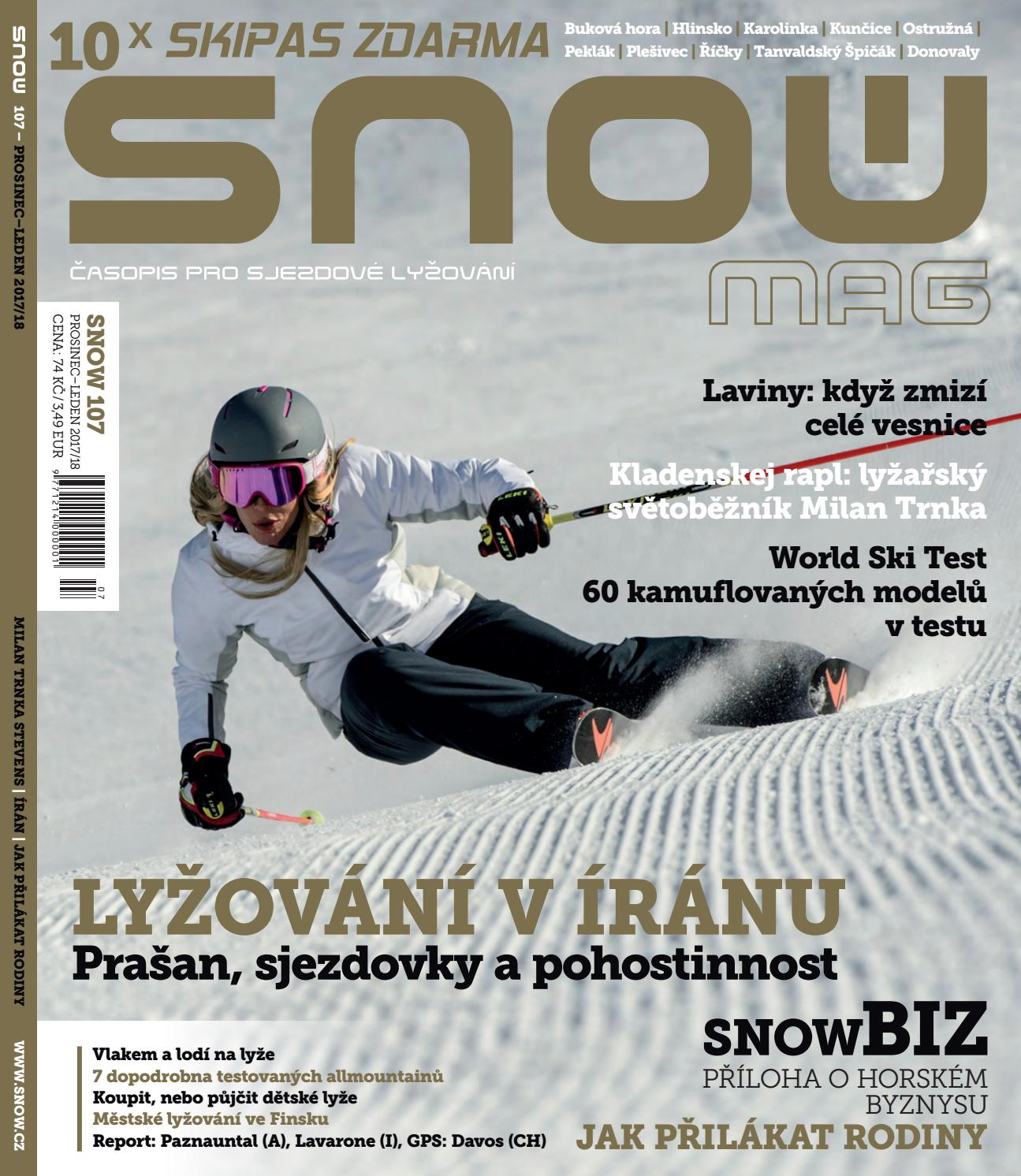 SNOW 107 - prosinec leden 2017 18 by SNOW CZ s.r.o. - issuu a4327f8381