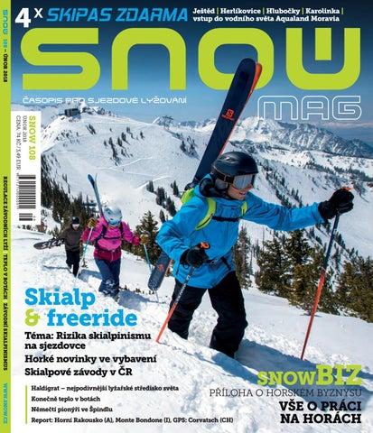 SNOW 108 - únor 2018 by SNOW CZ s.r.o. - issuu 858c2389f4