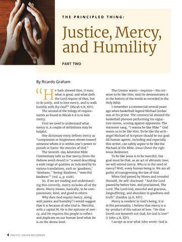 Page 4 of Justice, Mercy, and Humility
