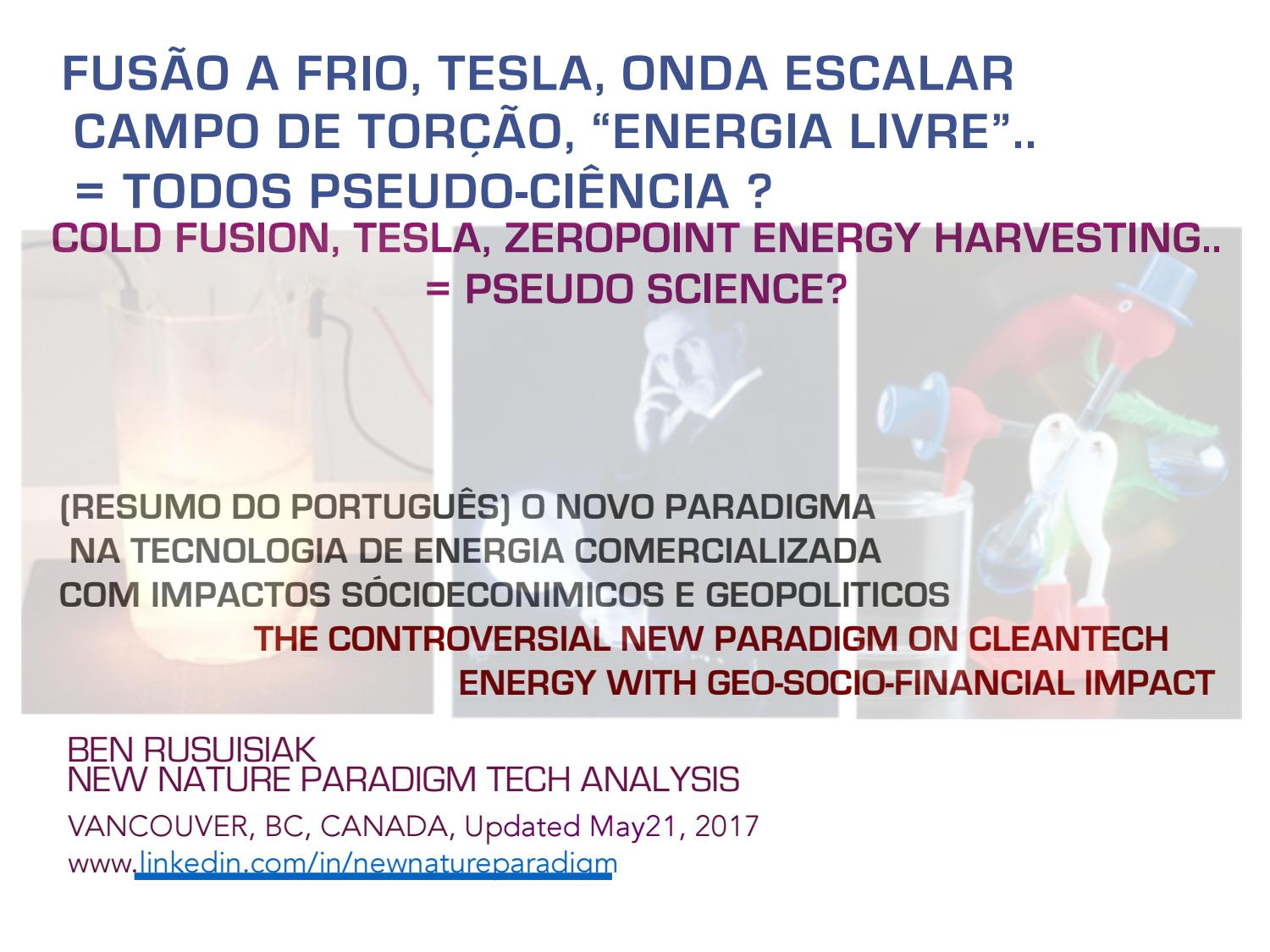 Fuso A Frio Tesla Onda Escala Campo De Toro Energia Livre New Dryer Wiring Ecn Electrical Forums Todos Pseudo Cinciaresumo Do P By Nature Paradigm Issuu