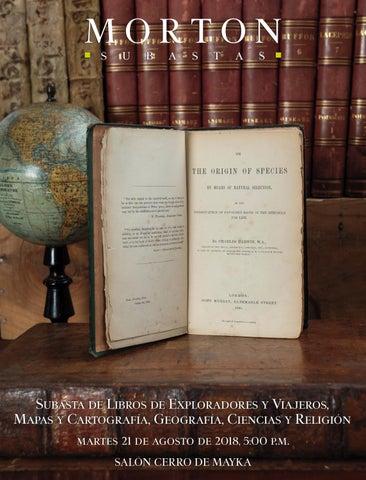 Subasta de Libros de Exploradores y Viajeros 19cec185a67
