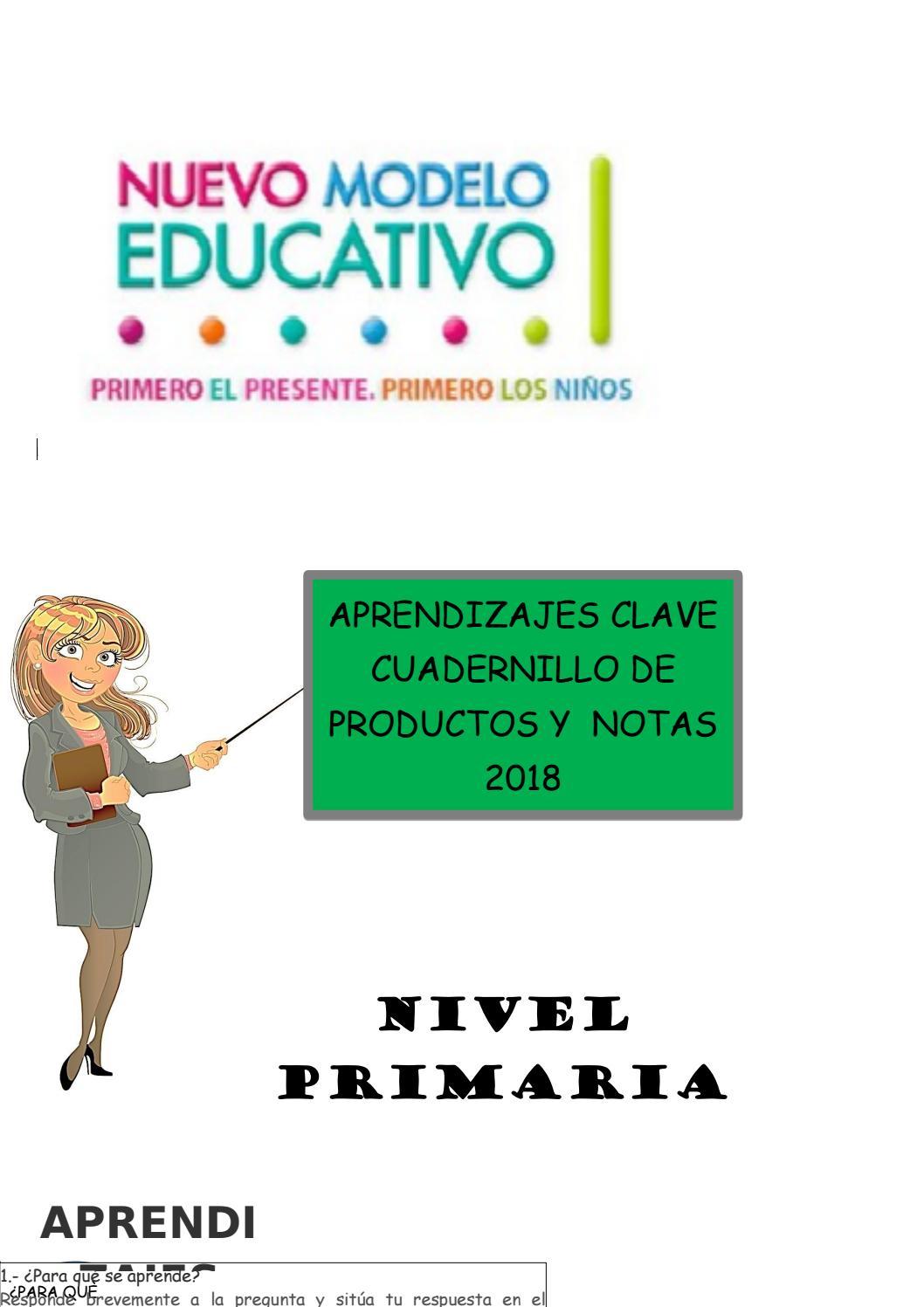 aprendizajes clave 4° grado by Joel Dueñas - issuu