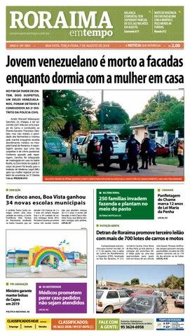b581c75fc7 Jornal Roraima em tempo – edição 1001 by RoraimaEmTempo - issuu