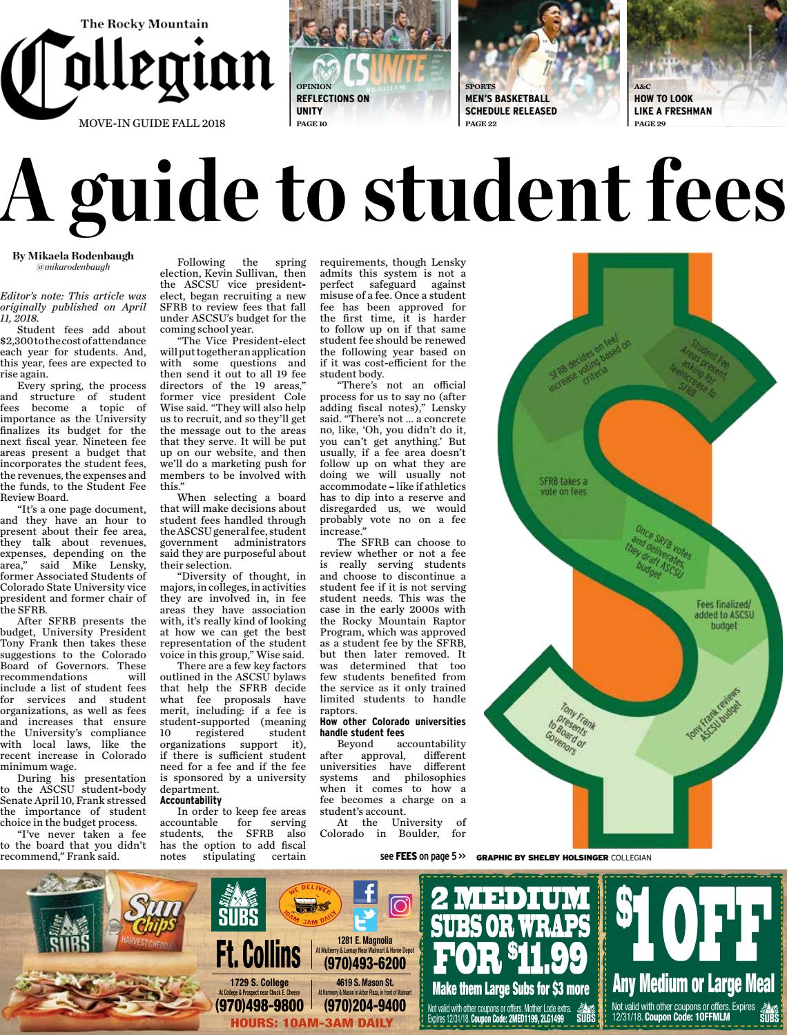fall 2018 move in edition by rocky mountain collegian issuu rh issuu com