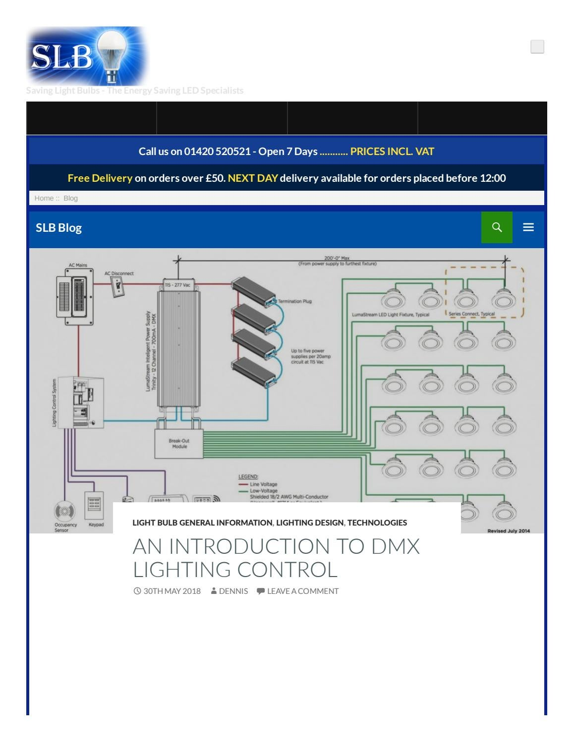 AN INTRODUCTION TO DMX LIGHTING CONTROL by Saving Light