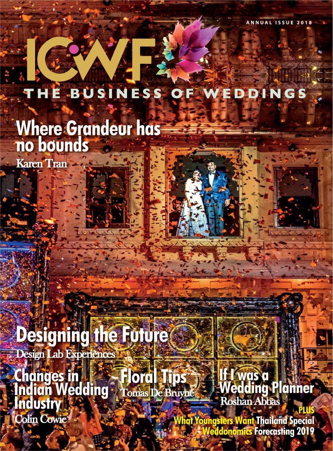 Icwf The Business Of Weddings By Mandeepscontact Issuu