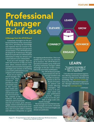 Page 11 of Professional Manager Briefcase