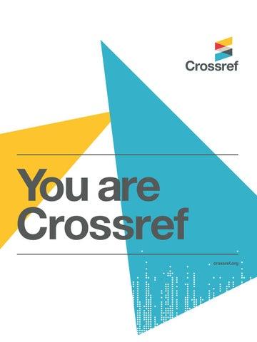 The Crossref brochure by Cross...