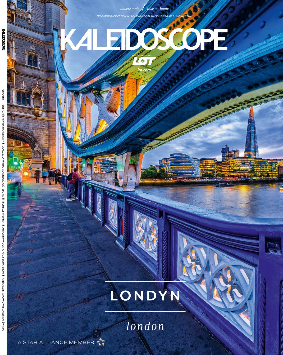 6efd9ba7ca7a8 Kaleidoscope August 2018 by LOT Polish Airlines - issuu