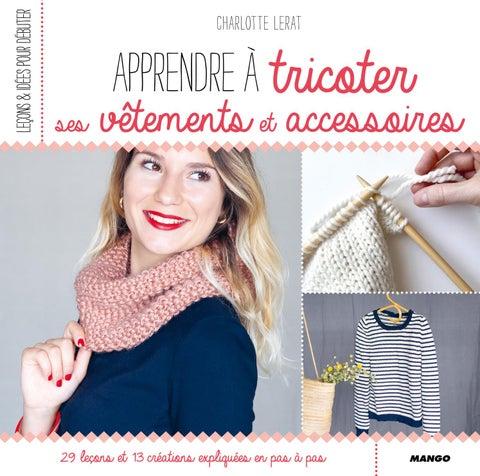 42302b6c2461 Apprendre à tricoter ses vêtements et accessoires by Fleurus ...