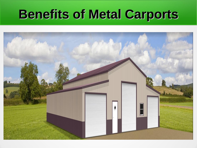 Benefits Of Metal Carports By Cardinalcarports Issuu