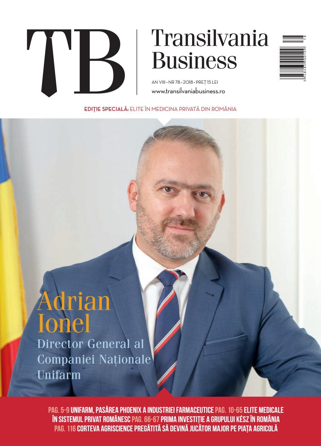 TB 78 by Transilvania Business - issuu