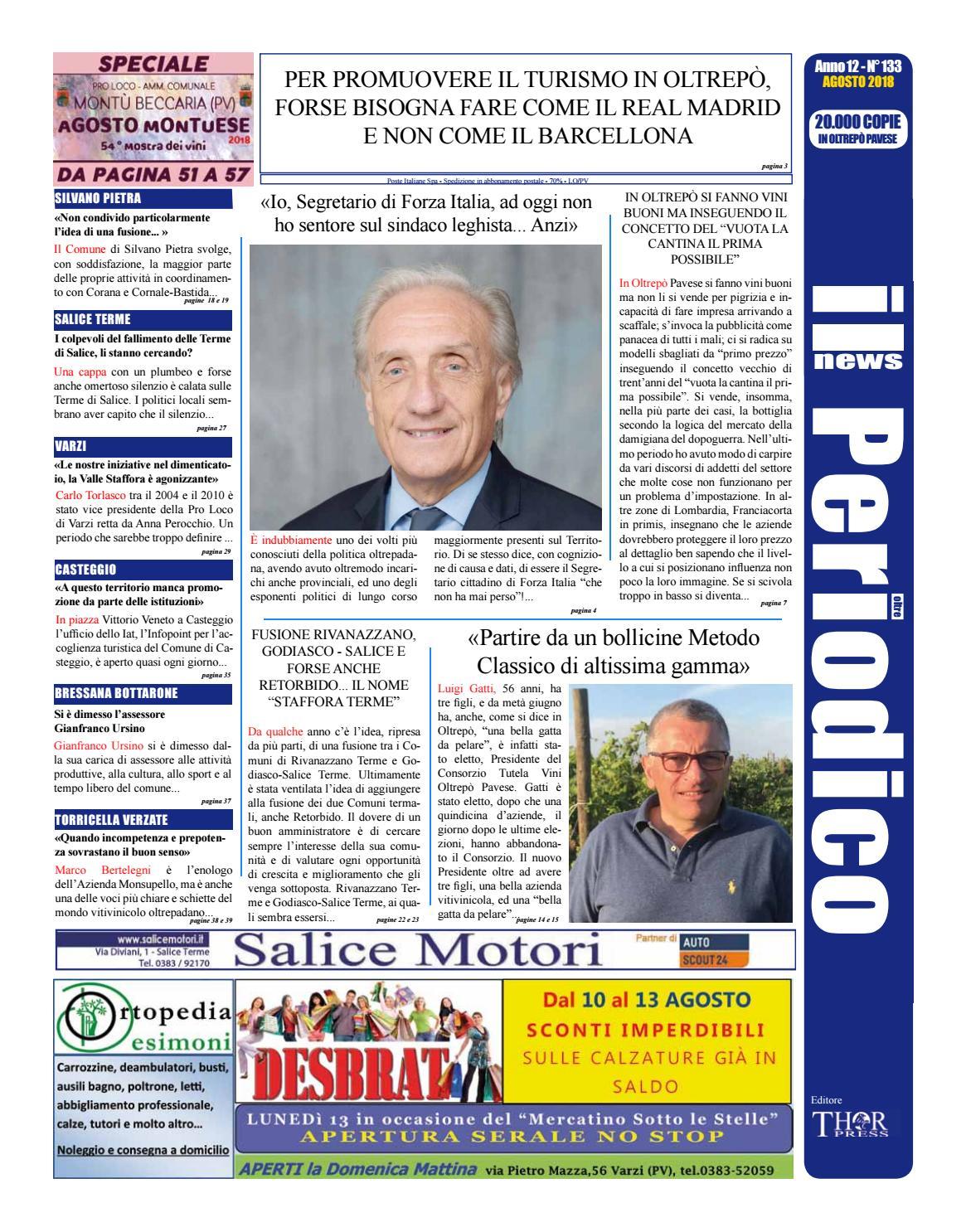 Il Periodico News - AGOSTO 2018 N°133 by IlPeriodicoNews - issuu d5b62136d45