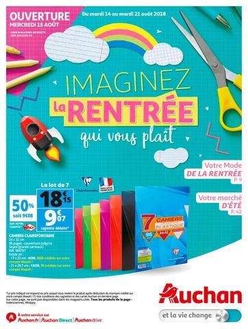 Auchan Imaginez La Rentrée Qui Vous Plait By Schiever Issuu