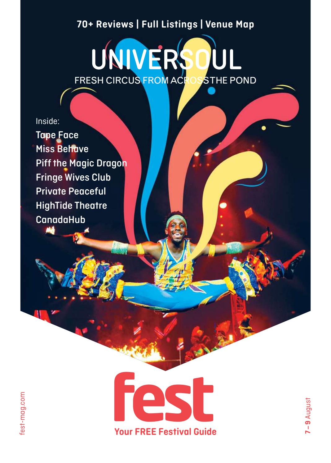 Fest 2018 Issue 1 by Fest Magazine - issuu f96933745