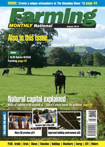 August 2018 Farming Monthly National by Farming Monthly Ltd