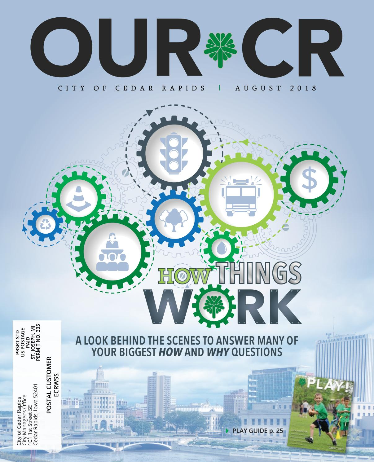 pretty nice ee4d8 80c52 Our CR Magazine - August 2018 by City of Cedar Rapids - issuu