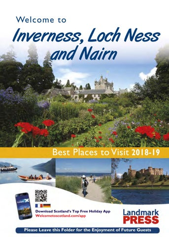 Welcome To Inverness Loch Ness And Nairn 2018 19 By