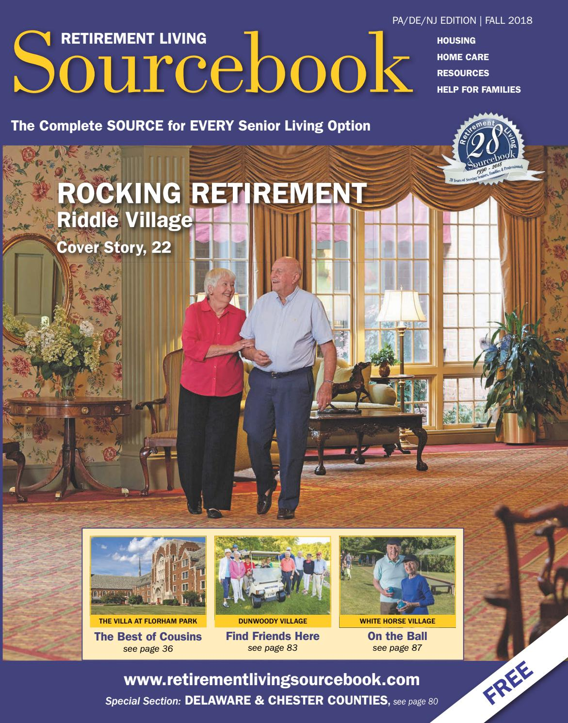 Retirement Living Sourcebook PA DE NJ Fall 2018 by Retirement Living  Sourcebook - issuu