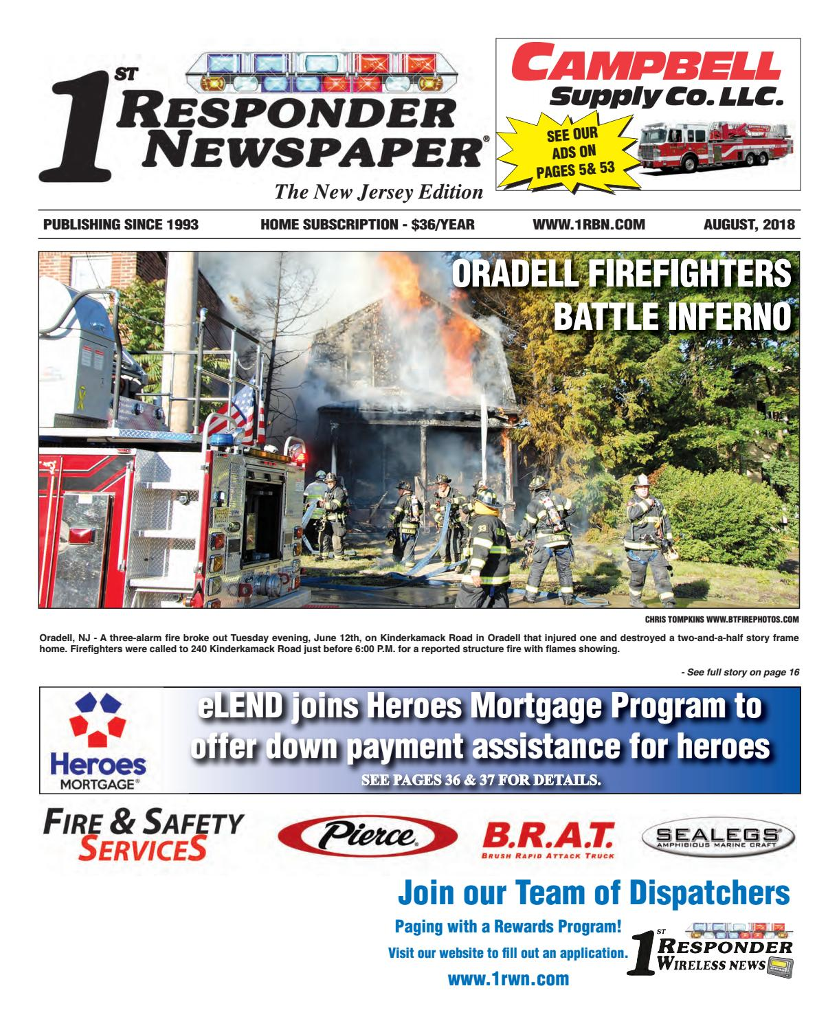 1st Responder Newspaper New Jersey August Edition By Belsito Osage Warrior Ambulance Wiring Diagram Communications Inc Issuu