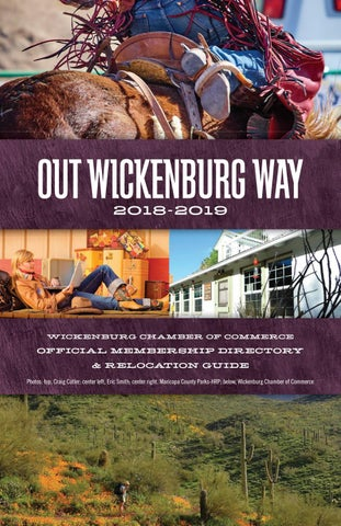 Wickenburg AZ Relocation Guide by Town Square Publications