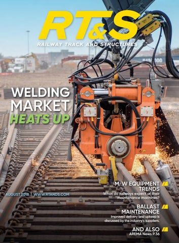 RT&S August 2018 by Railway Track & Structures - issuu