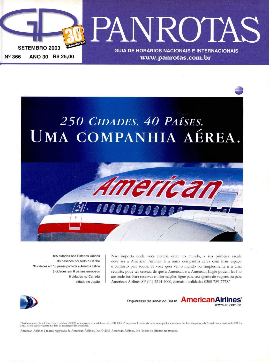 Guia PANROTAS - Edição 366 - Setembro 2003 by PANROTAS Editora - issuu 8597b52a447