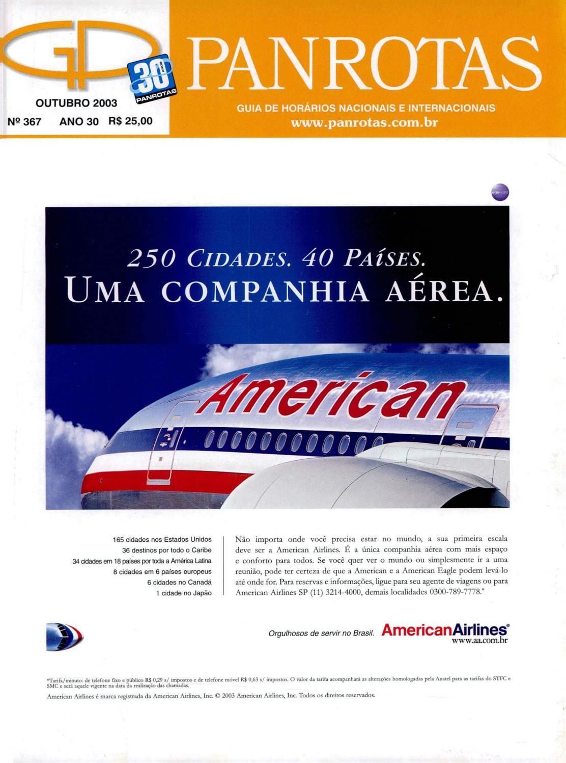 Guia PANROTAS - Edição 367 - Outubro 2003 by PANROTAS Editora - issuu 8e3881648c3
