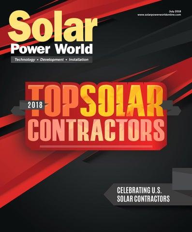 d6c8671d6dba Solar Power World — JULY 2018 by WTWH Media LLC - issuu