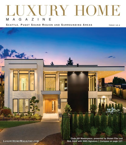 Luxury Home Magazine Seattle Issue 12.4 by Luxury Home ... on daylight basement house plans, best rambler home plans, lakefront house plans, large lodge style house plans, daylight ranch house plans,