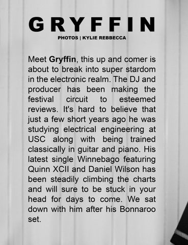 Page 62 of Meet up and comer DJ, GRYFFIN!