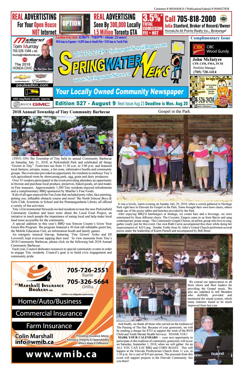 ffb1e50fb9 Springwater News by Springwater News - issuu