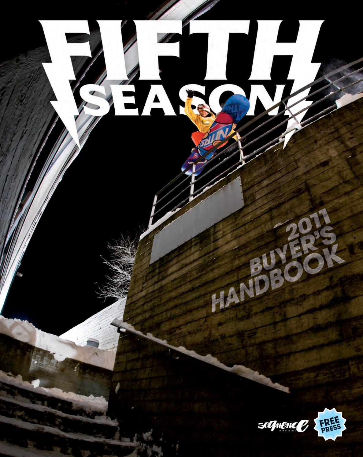 Fifth Season Buyer's Guide 2011 by Hand Communication issuu