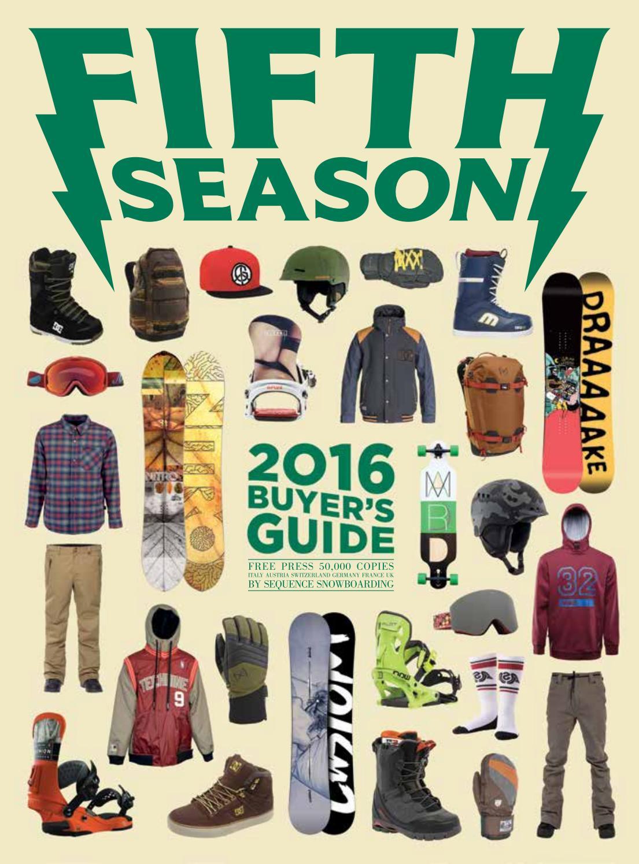 aad274f95 Fifth Season Buyer's Guide 2016 En by Hand Communication - issuu