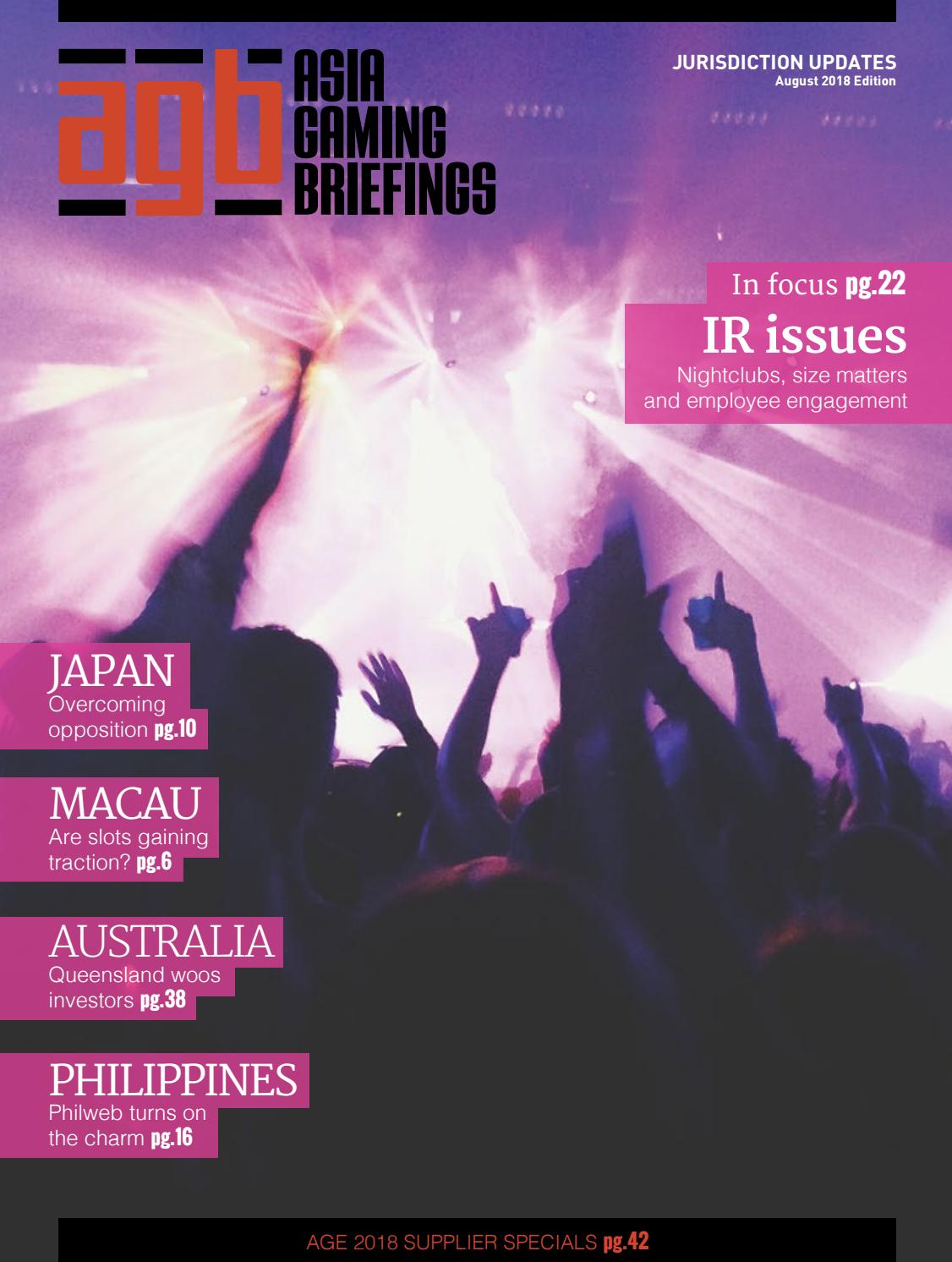 Agbriefings August 2018 By Asia Gaming Brief Issuu Tiket Genting Dream Cruise Special New Year Dep 30 December
