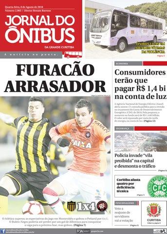 Jornal do Ônibus de Curitiba - 08 08 18 by Editora Correio ... c125f6c999960