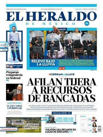 28e70b671c5 8 de agosto de 2018 by El Heraldo de México - issuu