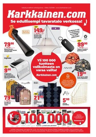 Kärkkäisen mainos (32 2018) (K-P) by Tavaratalo J. Kärkkäinen Oy - issuu 73cc2b5392