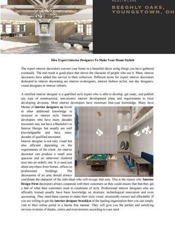 Interior Design Firm By Designersgroup Issuu
