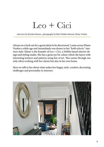 Page 9 of Creating personal interiors  with Leo + Cici