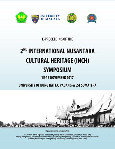 E Proceeding of The 2nd International Nusantara Cultural Heitage