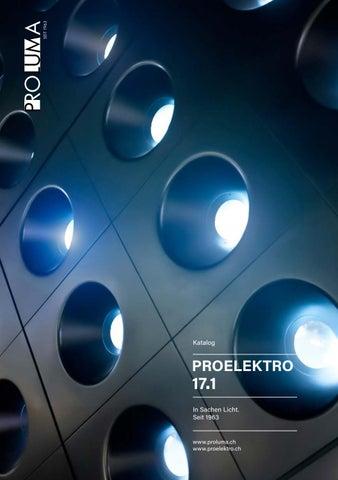 Katalog Proelektro 17.1 by Proluma AG - issuu