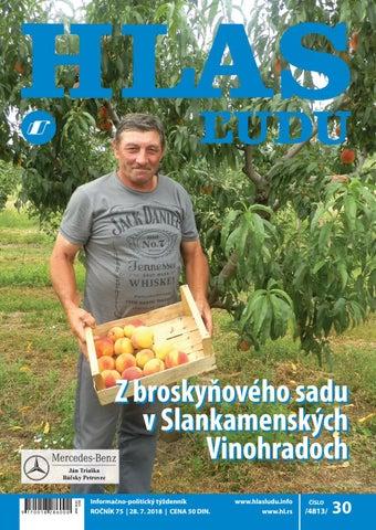 3dcbb0fe6 Hlas 30 2018 by NVU Hlas ľudu - issuu