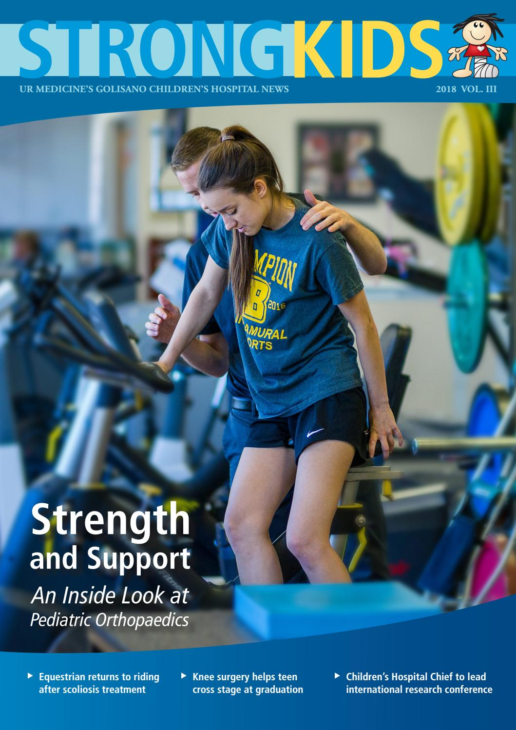 Strong Kids | 2018 | Volume 3 by University of Rochester