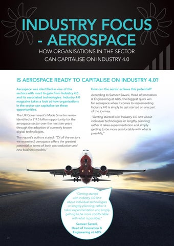 Page 24 of Industry Focus – Aerospace